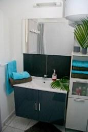 Petite Villa Guadeloupe: Salle de bains