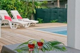 Petite Villa Guadeloupe: Piscine