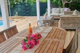 Petite Villa Guadeloupe: Terrasse Piscine