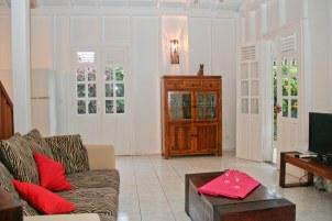 Petite Villa Guadeloupe: Salon