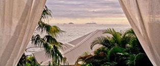 Petite Villa Guadeloupe: Maison Vue sur les Saintes